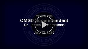 Dr. Hammond's Video Message